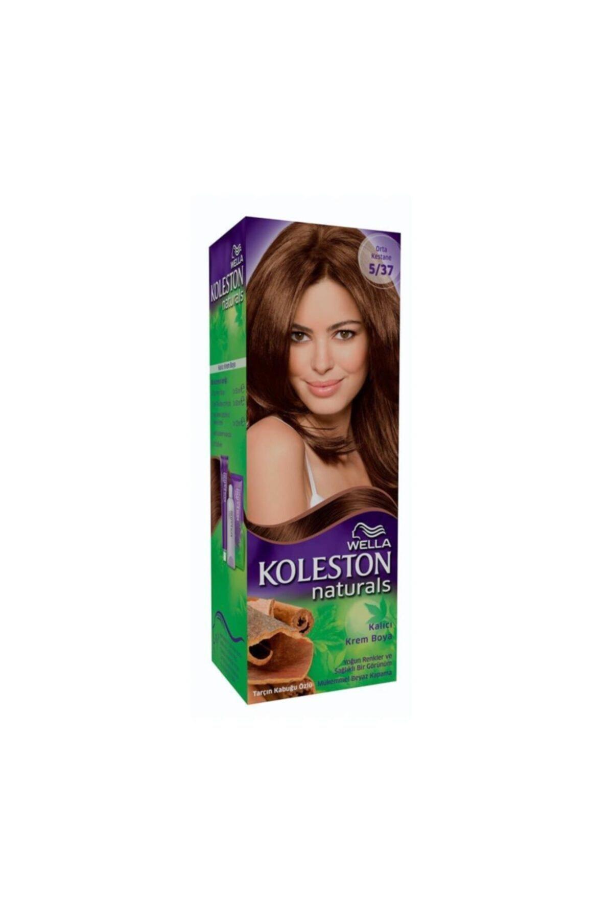 Koleston Naturals Maxi Saç Boyası 5-37 Orta Kestane 1