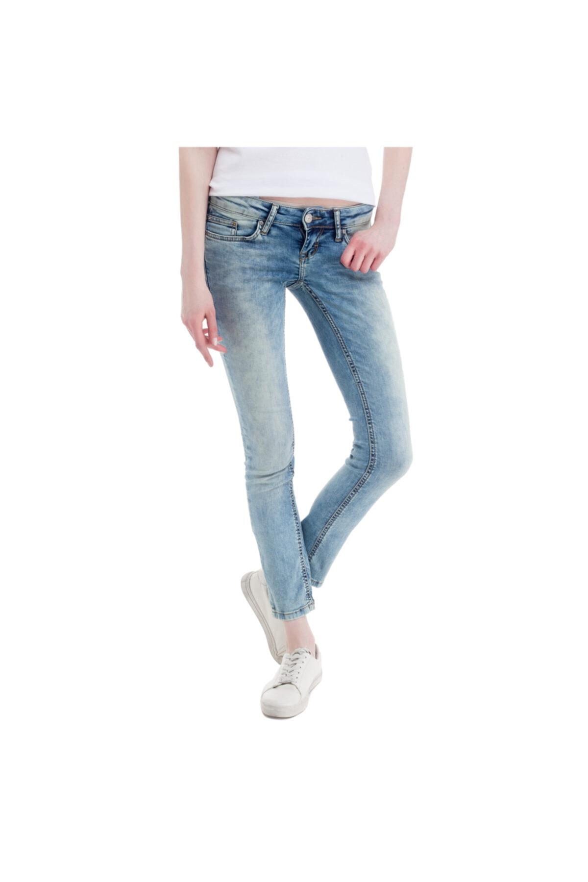Mustang Gina Skinny Kadın Jean Pantolon Mavi 1