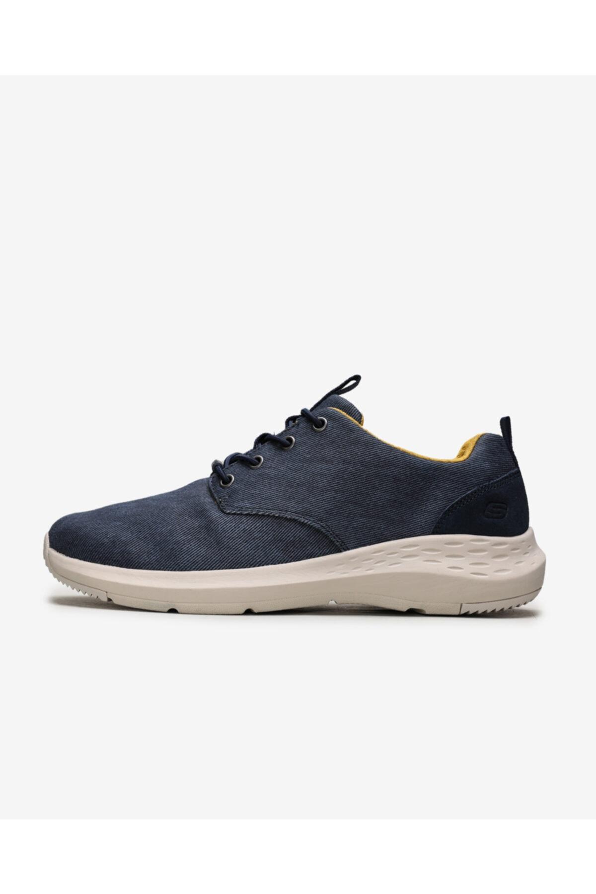 SKECHERS PARSON Erkek Mavi Günlük Ayakkabı 66005 BLU 2