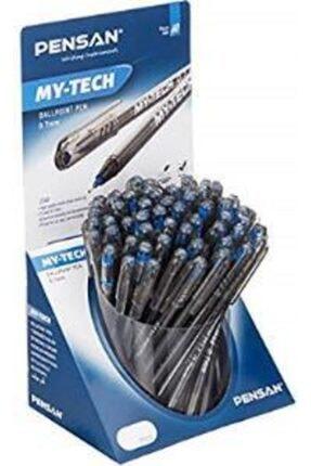 Pensan 2240 Tükenmez Kalem My-tech 0.7 Mm Mavi (60 Lı Paket)