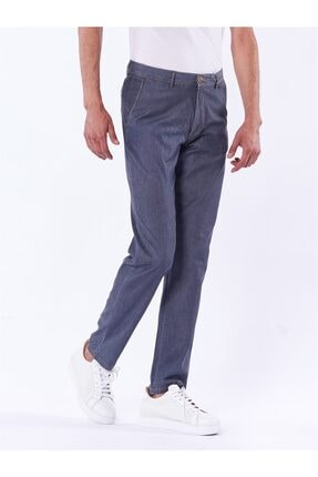 Dufy Koyu Gri Büyük Beden Düz Erkek Pantolon - Battal