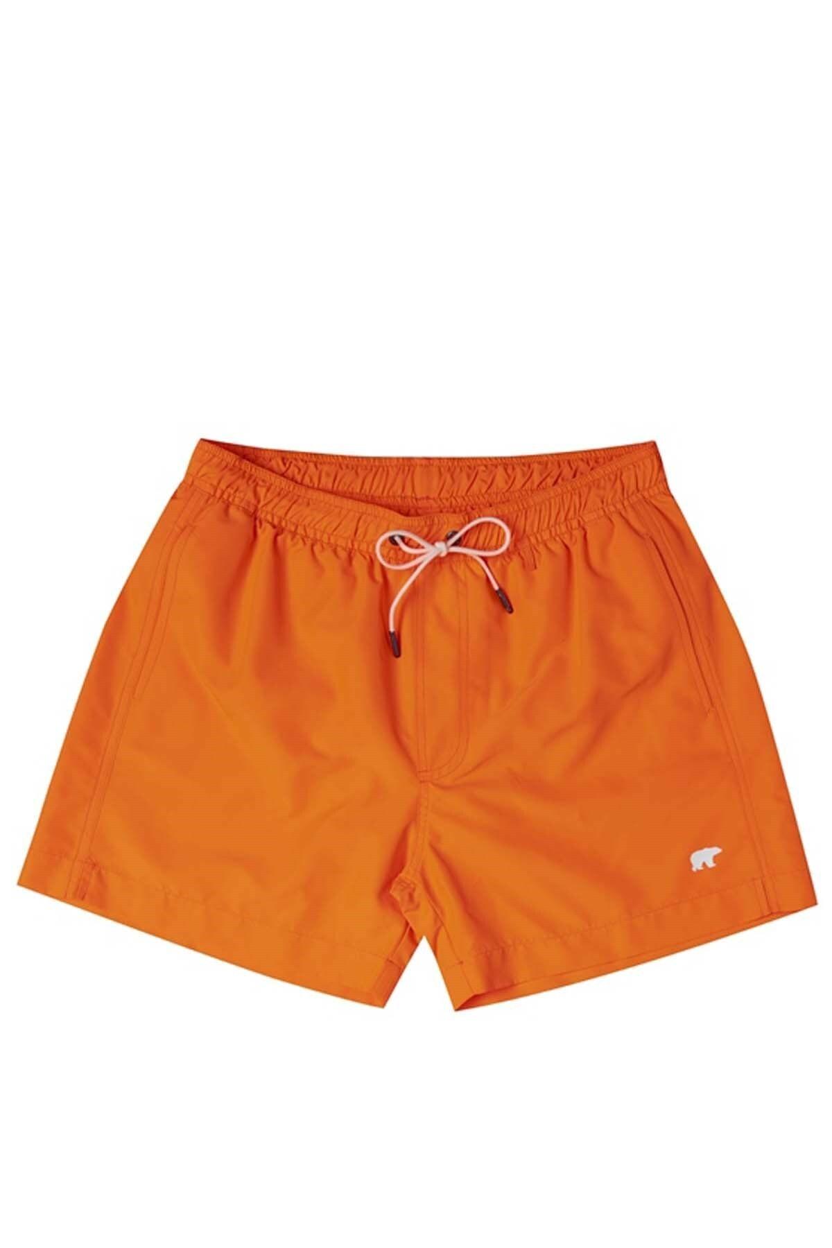 Bad Bear Davenport Neon Erkek Deniz Şortu 18.01.09.008n. Orange 1