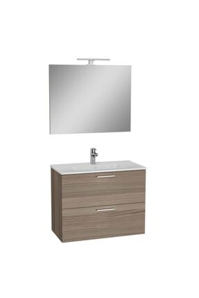 VitrA Mia Cordoba 80 Cm Banyo Dolabı+ayna+lavabo+aplik