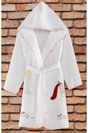 Zeynep Tekstil Sweet Pike Nakışlı Kız Çocuk Bornozu
