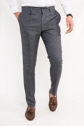 Sır Sir Bitik Kareli Erkek Slimfit Kumaş Pantolon