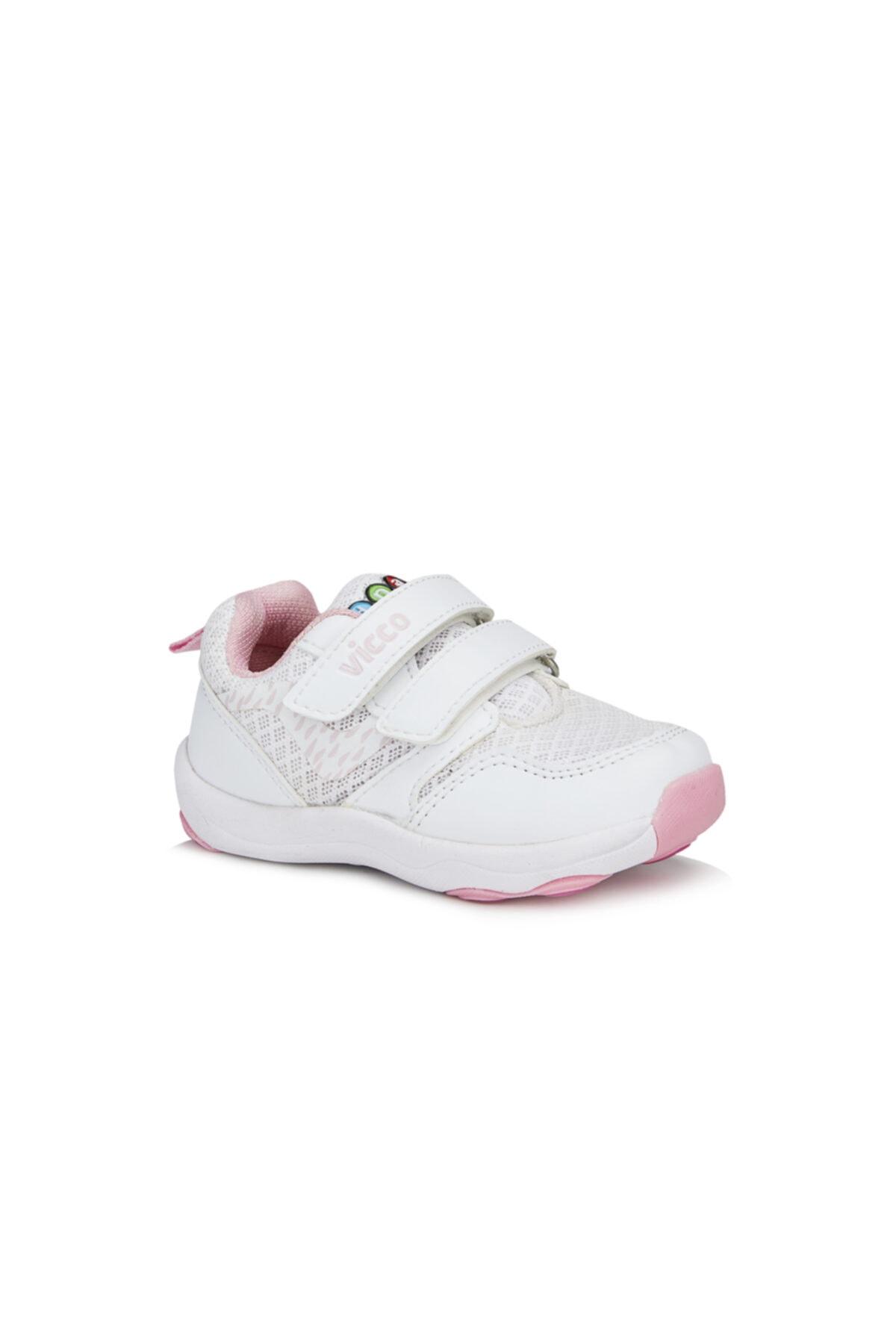 Vicco Dna Kız Bebe Beyaz Spor Ayakkabı 1