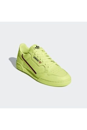 adidas Erkek Yeşil Bağcıklı Sneaker Continental 80