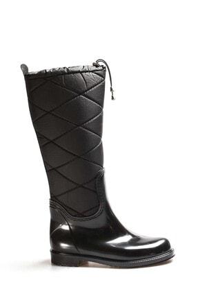 FAST STEP Siyah Kadın Yağmur Çizme 933sza515