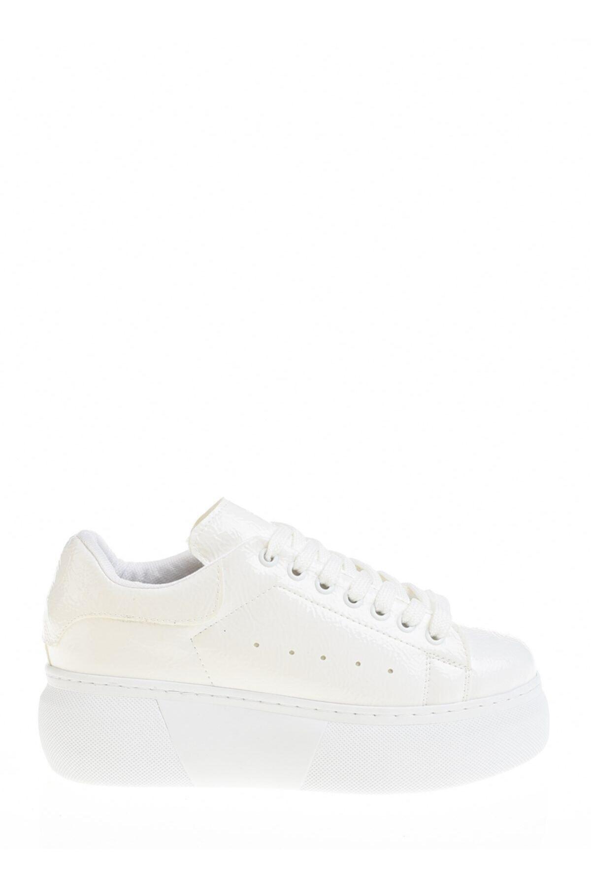 Derigo Beyaz Kadın Günlük Ayakkabı 395011 2