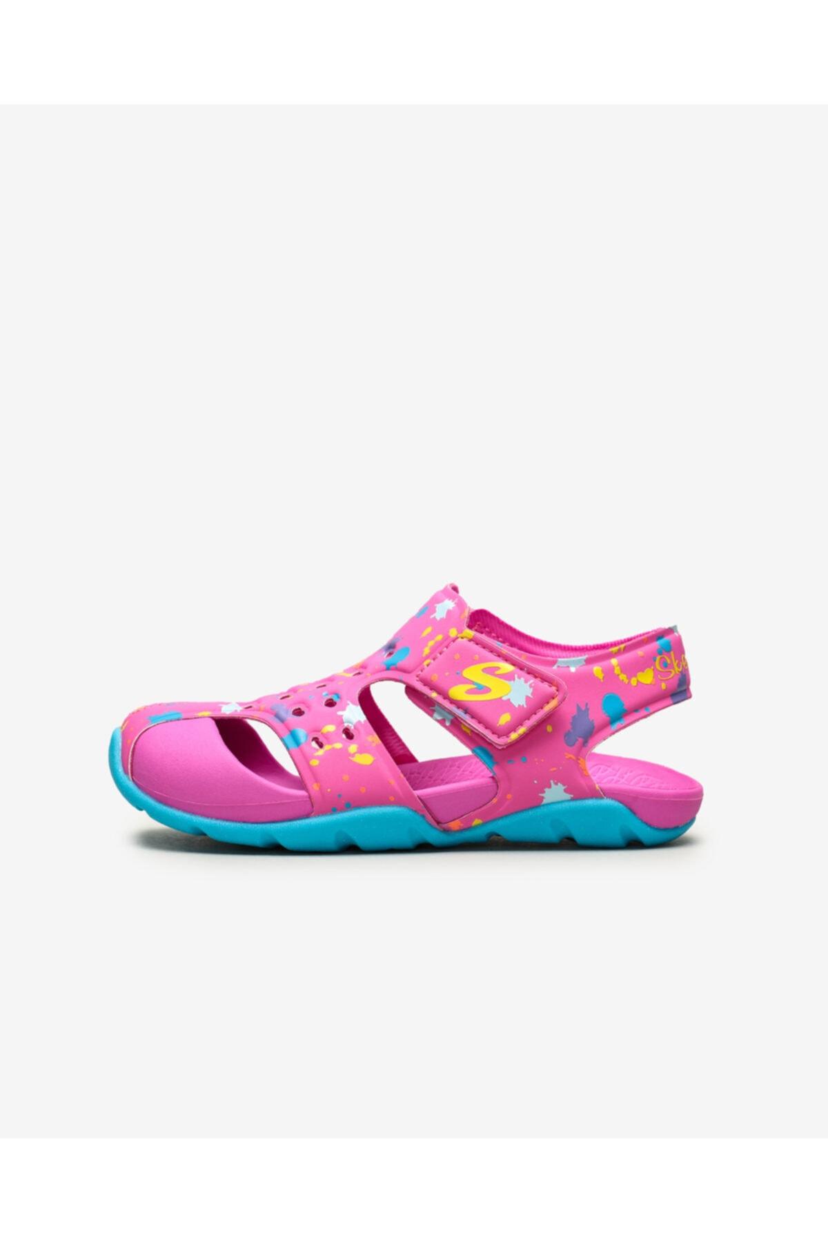 SKECHERS SIDE WAVE - Büyük Kız Çocuk Pembe Sandalet 1