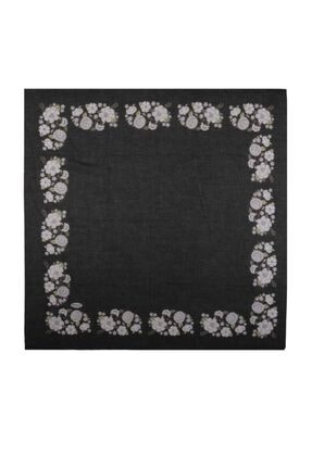 İpekçe  Çiçek Desenli Yazma 90 Cm | 036
