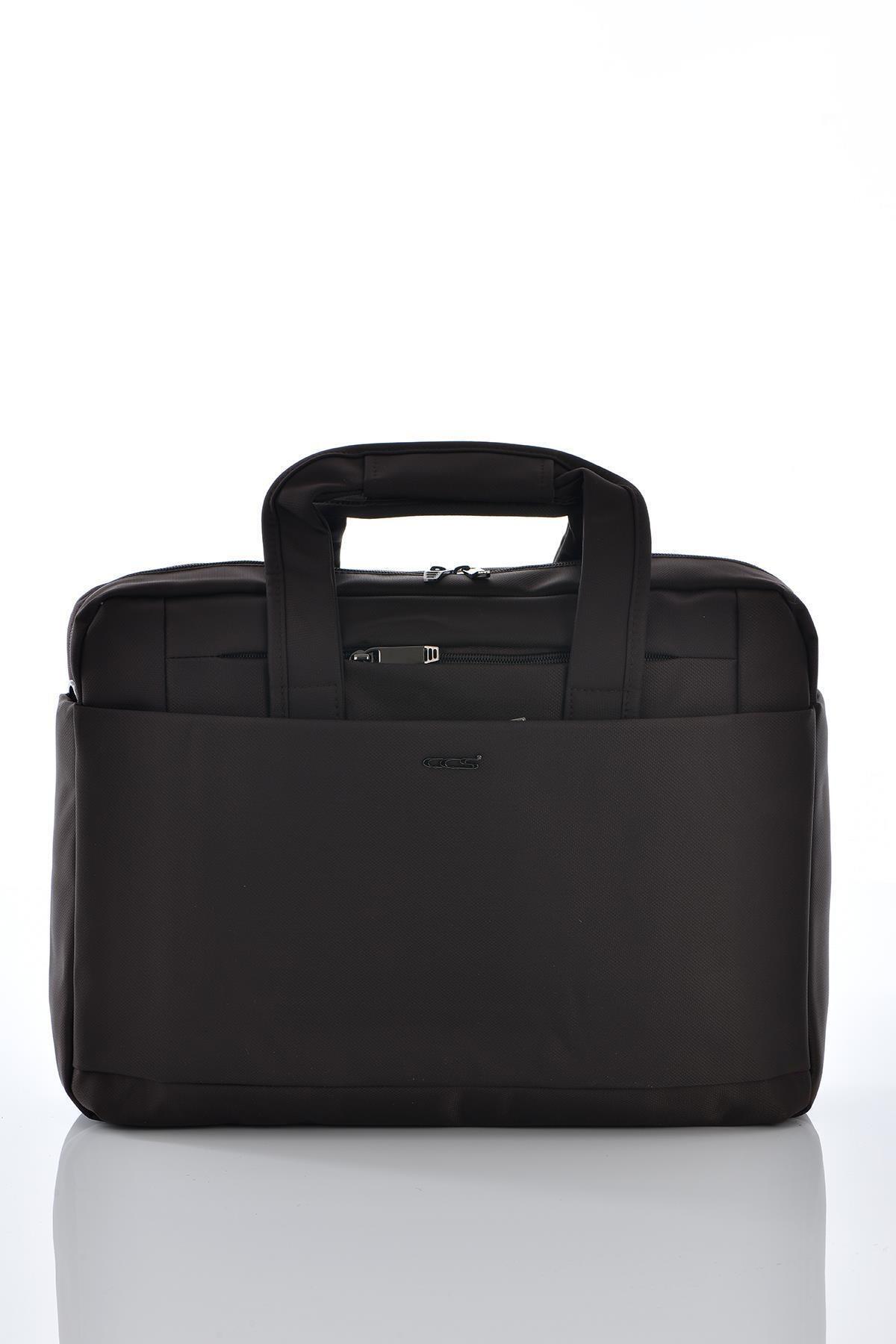 ÇÇS 71318 Laptop Bölmeli Evrak Çantası Kahverengi 1