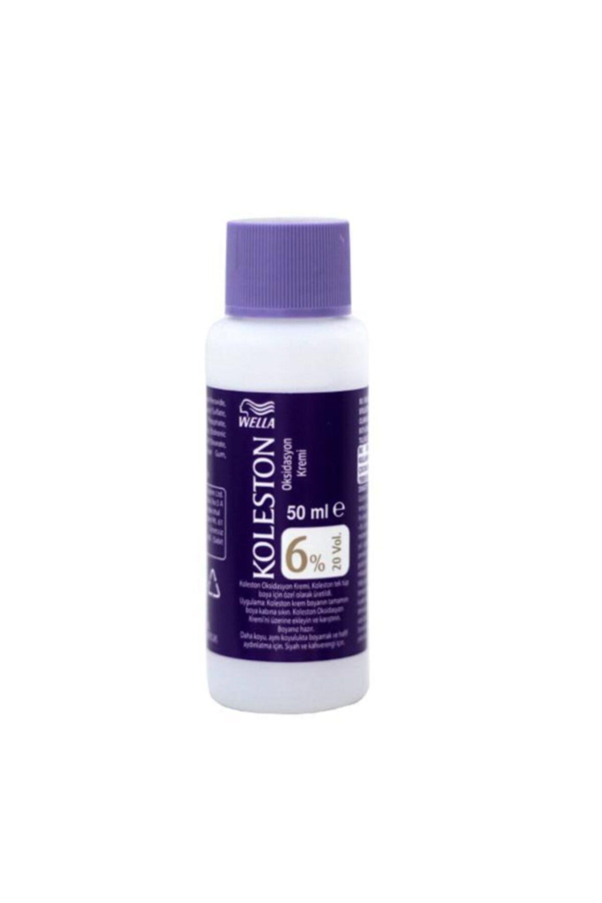 Koleston Sıvı Peroksit %6 Krem Boya Için Oksidan Boya Sıvısı 50ml 1