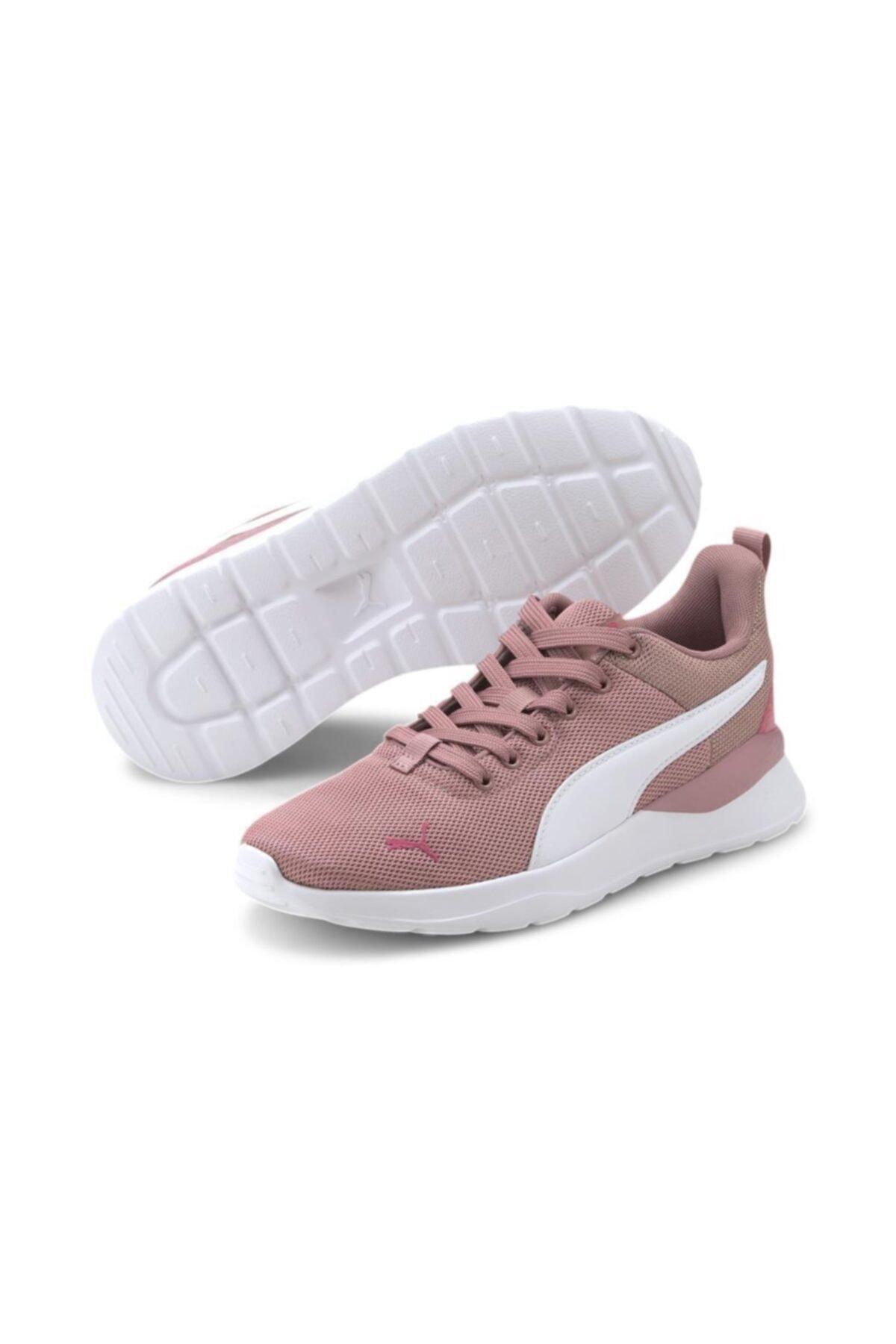Puma 373174 01 Anzarun Lite Metallic Jr Kadın Sneaker Ayakkabı Pembe 2