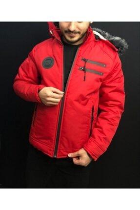 REGOS Kırmızı Spor Erkek Mont