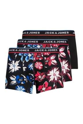 Jack & Jones Jack Jones Colors Erkek 3 Lü Paket Erkek Baxer
