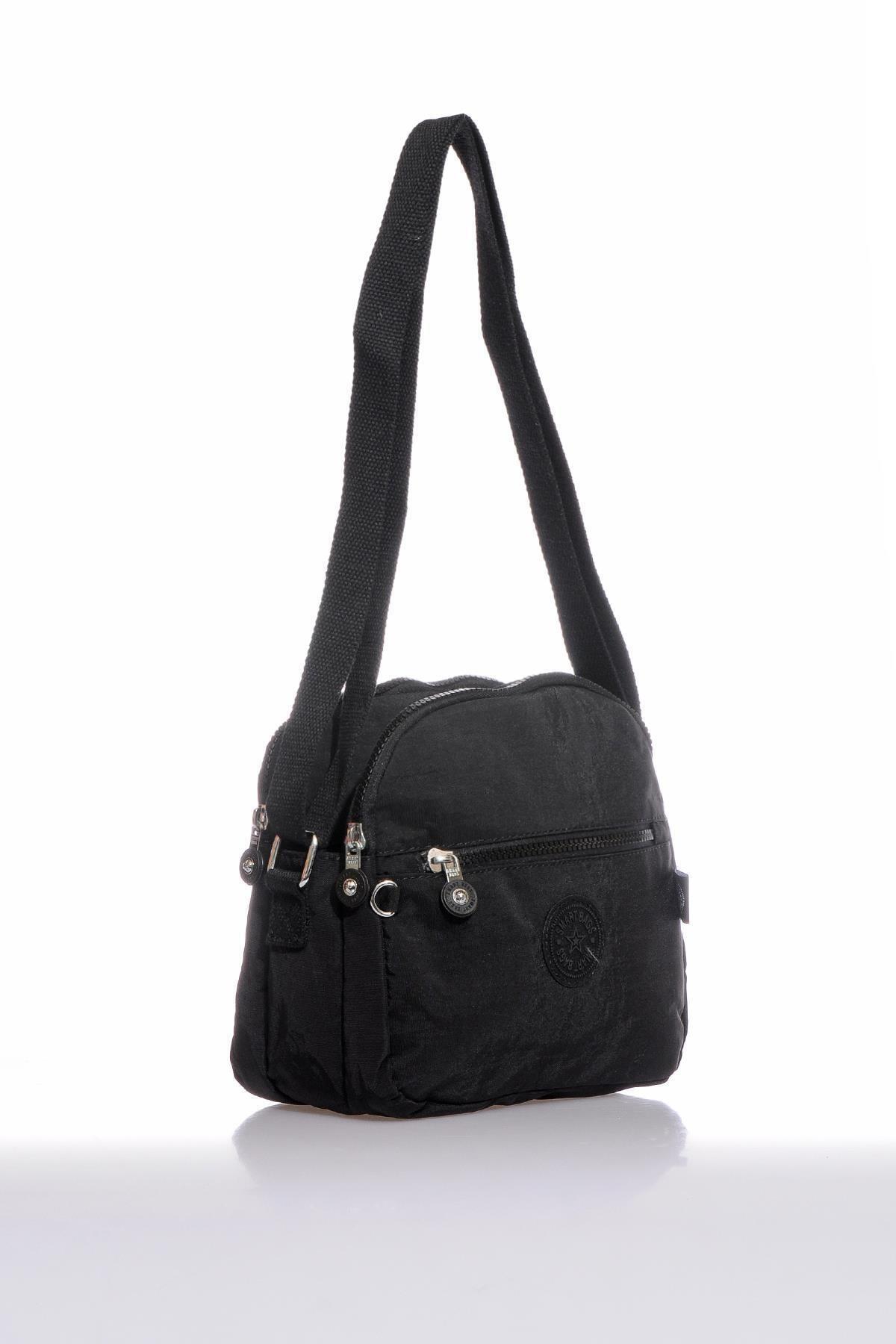 SMART BAGS Smb3058-0001 Siyah Kadın Çapraz Çanta 2