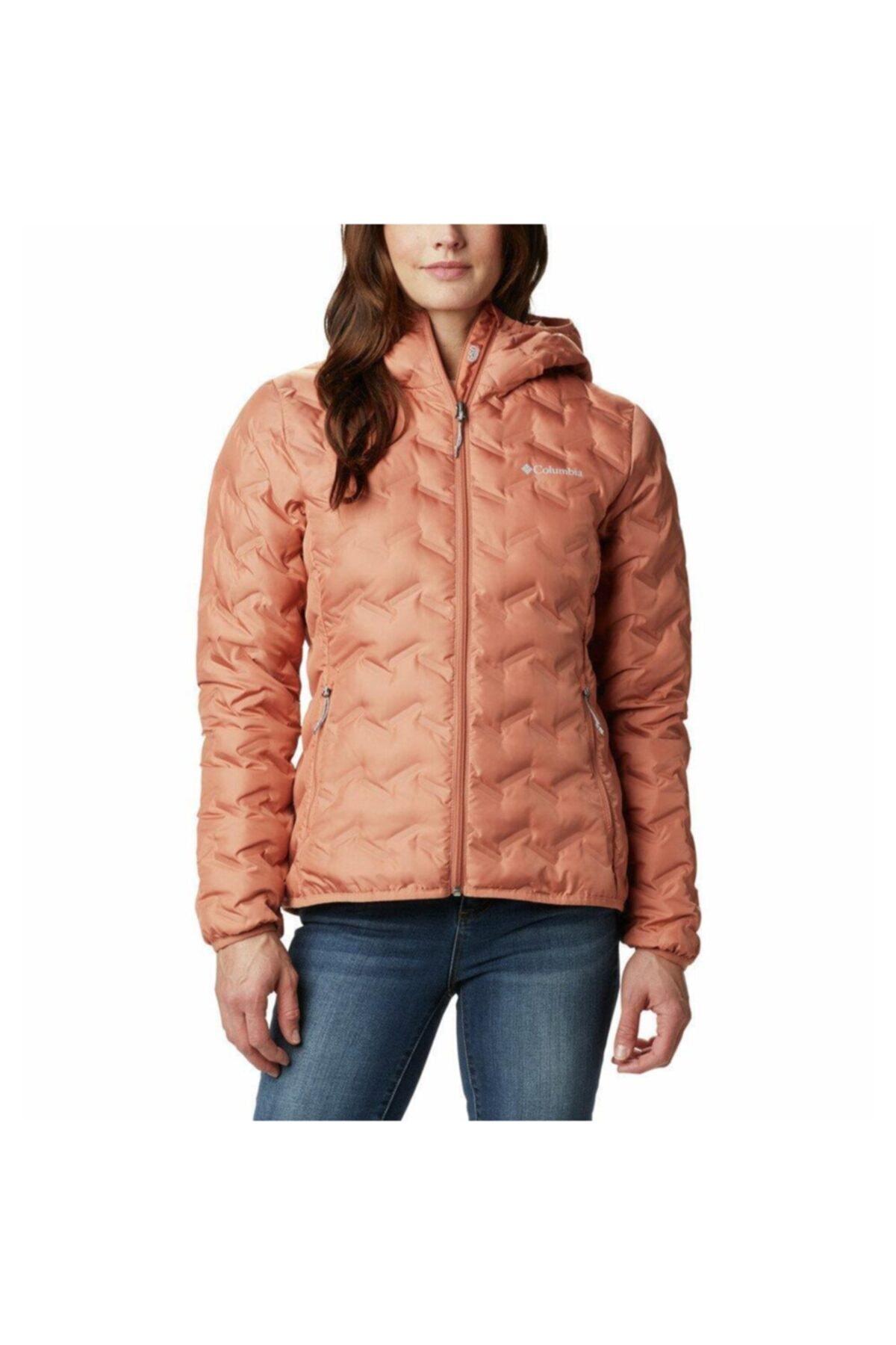 Columbia Wk0260-604 Delta Ridge Down Hooded Jacket Kadın Mont 1