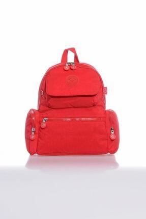 SMART BAGS Smb3077-0019 Kırmızı Kadın Sırt Çantası