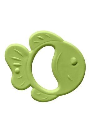 Bambino Kauçuk Yumuşak Diş Kaşıyıcı - Balık Figürlü Yeşil
