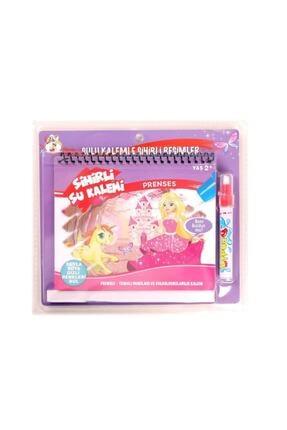 NeUygun Sihirli Boyama Kitabı Özel Kalemi Water Magic Boyama Prenses Serisi