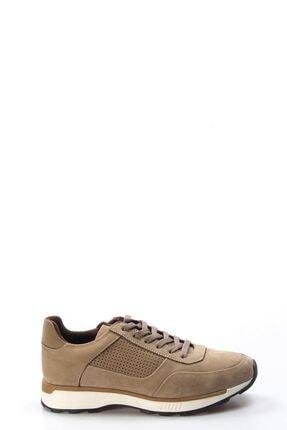 FAST STEP Hakiki Deri Kum Nubuk Erkek Sneaker Ayakkabı 723ma120