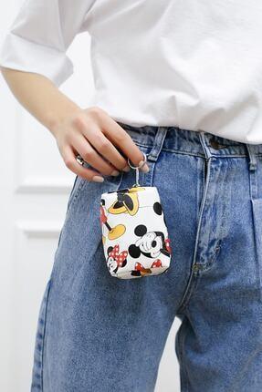 Mickey Mouse Kadın Beyaz Bozuk Paralık