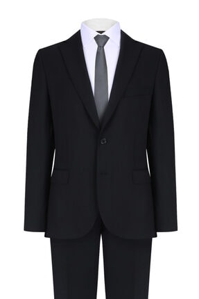 W Collection Siyah Takım Elbise
