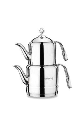 KORKMAZ Çintemani Çaydanlık Takımı