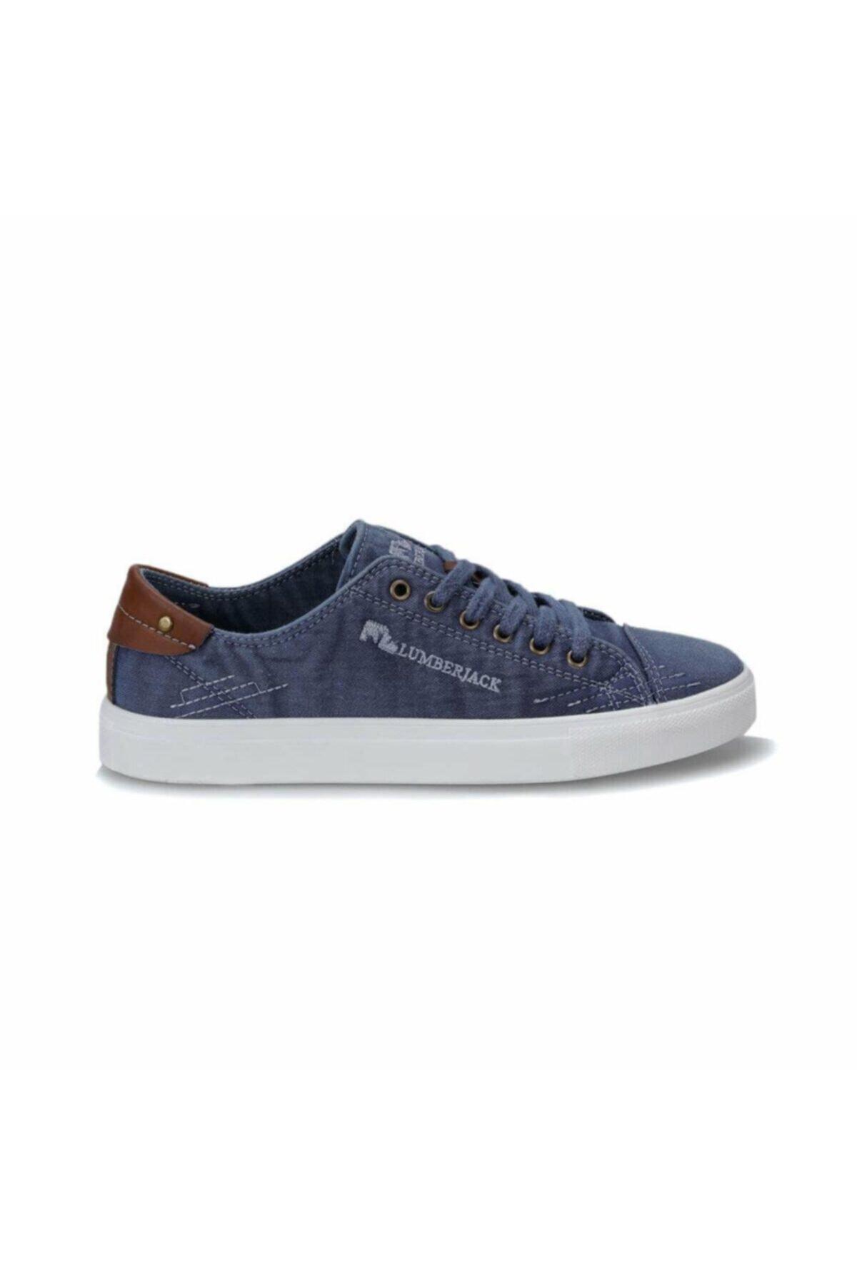 lumberjack Dalton 100241898 Mavi Erkek Sneker Ayakkabı 2