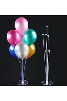 Kullan At Market Balon Süsleme Standı 7 Çubuklu Set
