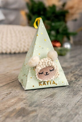 Katia&Bony Happy Sheep Kadın Soket Çorap - Bej