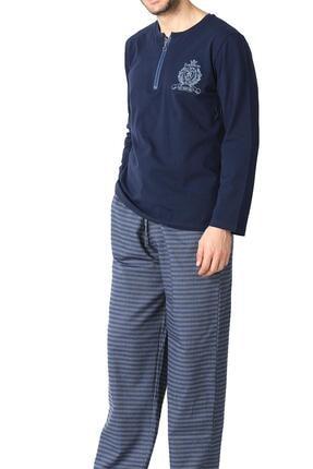 Doremi Prussian Blue Erkek Pijama Takımı