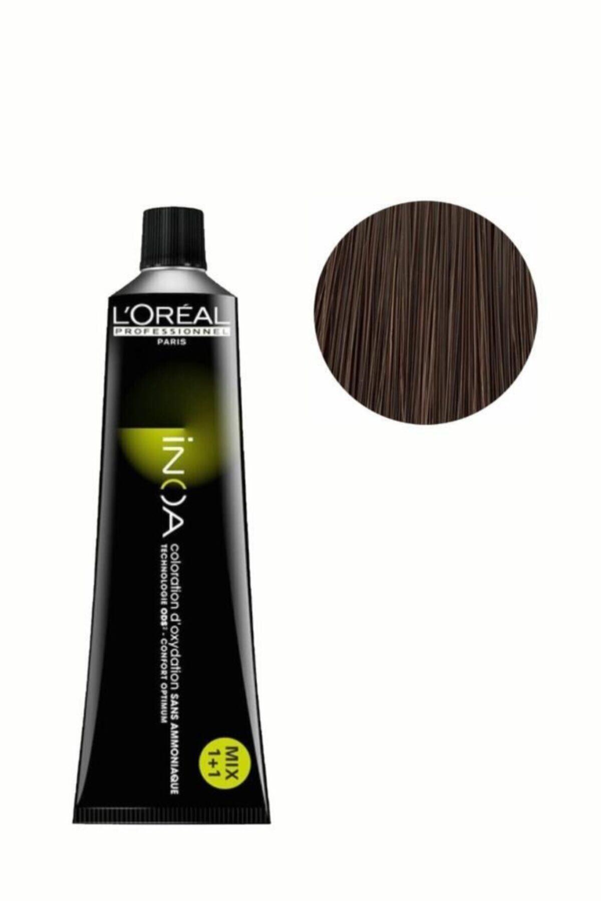 İNOA Yoğun Kumral Oksidansız Saç Boyası 6,0 3474630491717 2