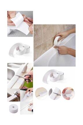 morponi Su Sızdırmaz Banyo Mutfak Kenar Bandı 3.2 Mt Beyaz
