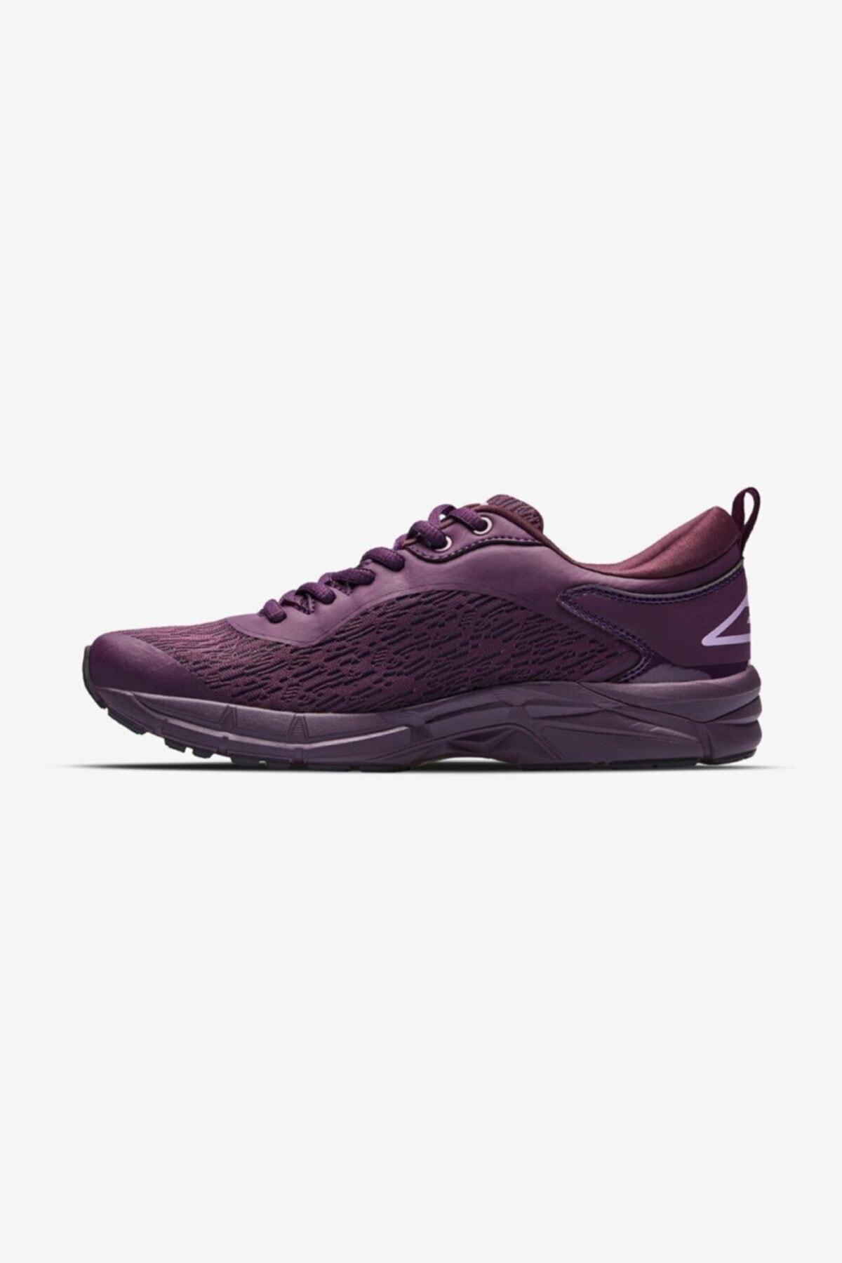 Lescon Swift Runner Koşu Mürdüm Kadın Spor Ayakkabı 2
