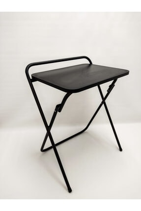 HASTUNÇ Katlanır Portatif Dizüstü Laptop Sehpası/masası Siyah
