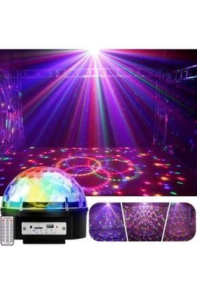 LESGO Parti Malzemesi Sese Duyarlı Bluetoothlu Led Küre Disko Topu Renkli Işıklı Led Crystral