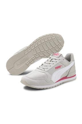 Puma Kadın Beyaz St Runner V2 Mesh Jr Günlük Spor Ayakkabı