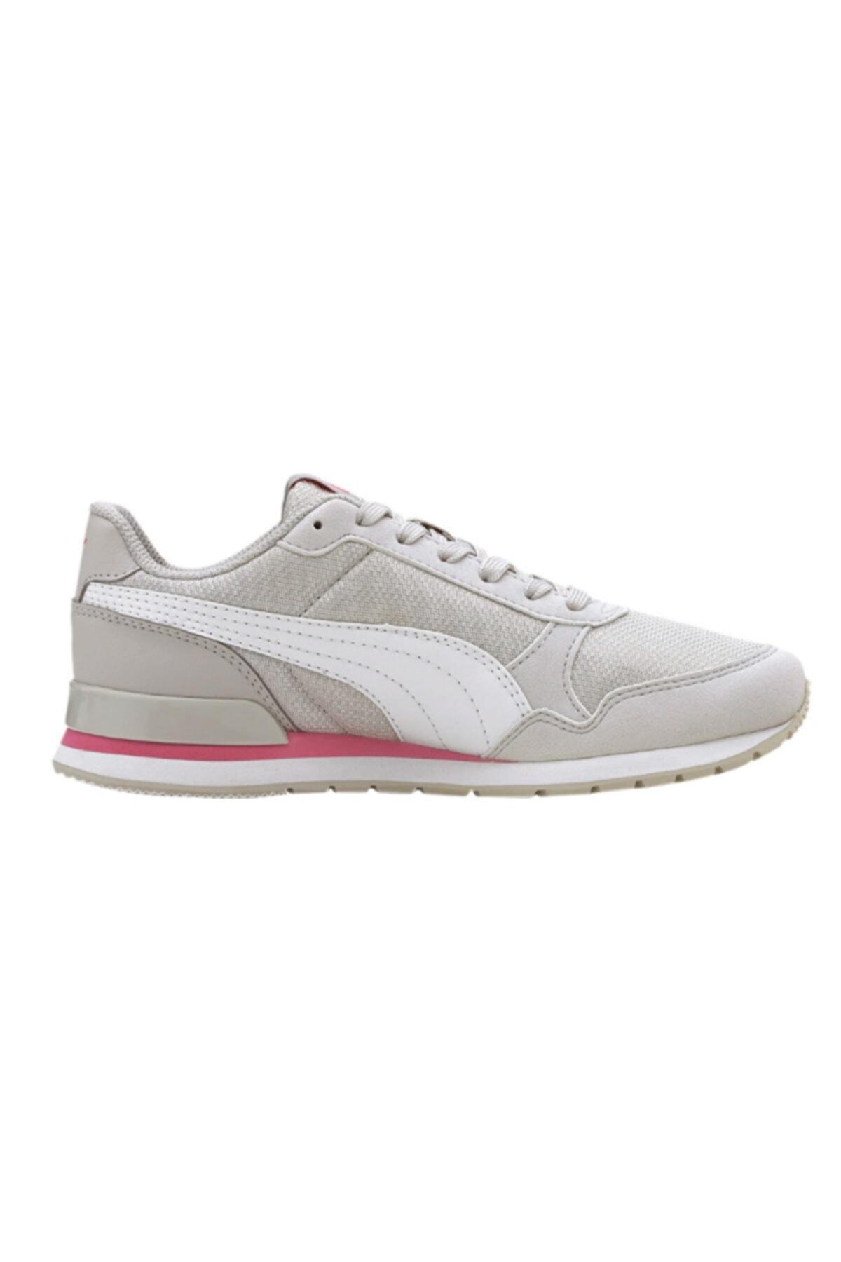 Puma Kadın Beyaz St Runner V2 Mesh Jr Günlük Spor Ayakkabı 2