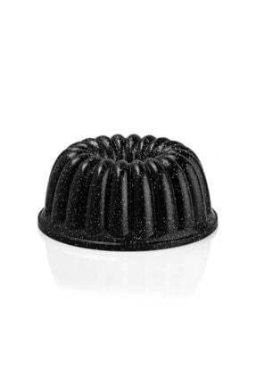ThermoAD Granit Sık Dilimli Kek Kalıbı Siyah