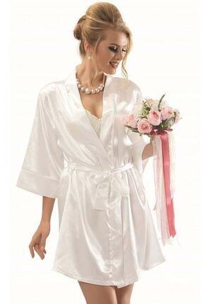 NBB Kadın Ekru Bride Sabahlık
