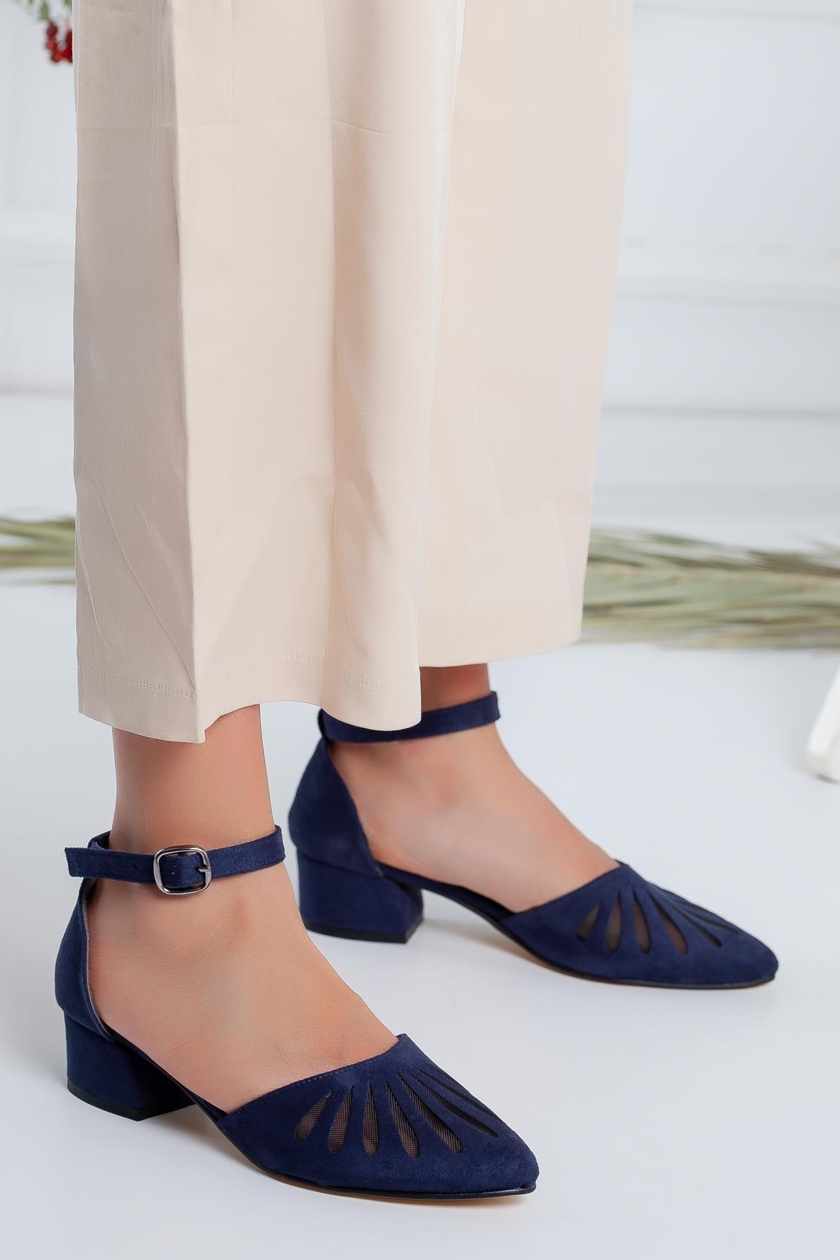 Moda Eleysa Chica Süet Topuklu Ayakkabı 2