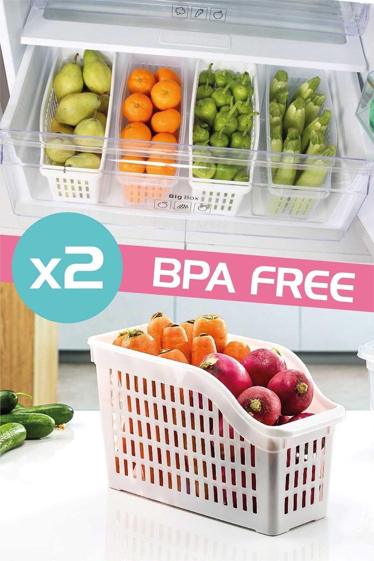 Dünya Plastik 2'li Buzdolabı Düzenleyici Set 1