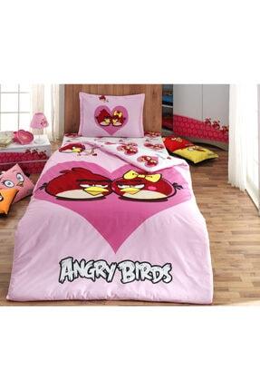 Angry Birds Angry Bırds Ranforce Pamuklu Nevresim Takımı Ab-02