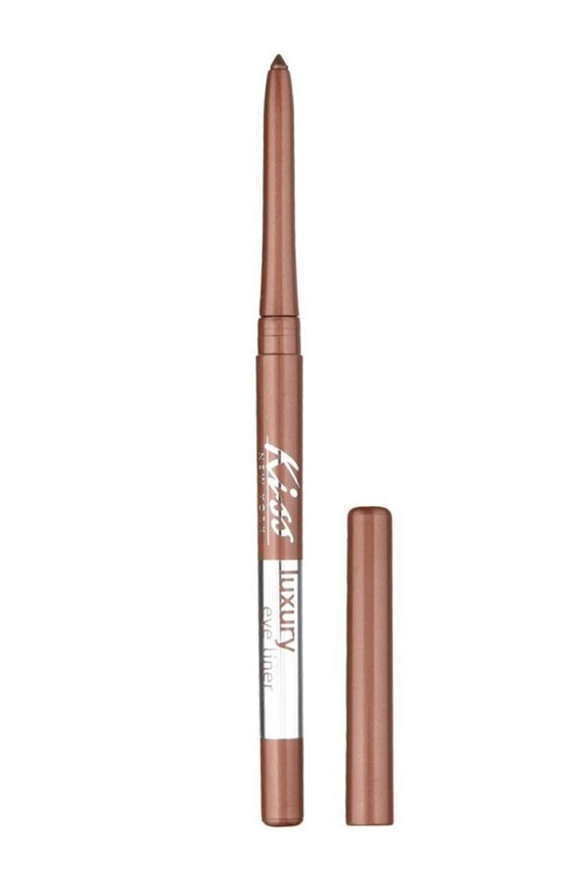 Kiss Göz Kalemi - Luxury Eye Liner Seductive Bronze 731509536997 1