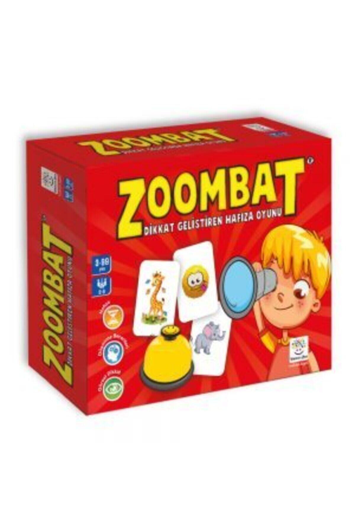 Yükselen Zeka Yayınları 3+ Yaş Zoombat (Dikkat Geliştiren Hafıza Oyunu) 1