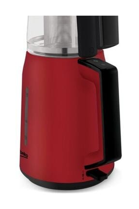 Beko Cm 2940 K 1750 Watt Kırmızı Cam Demlikli Çay Makinesi