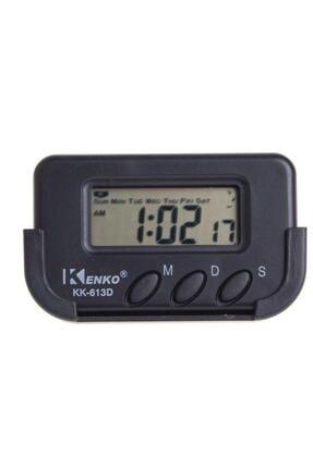 Kenko Kk-613d Dijital Küçük Masa-araba Saati-alarm-kronometre