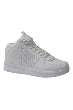 MP M.p 202-1578 Beyaz Anatomik (36-40) Boğazlı Bayan Spor Ayakkabı